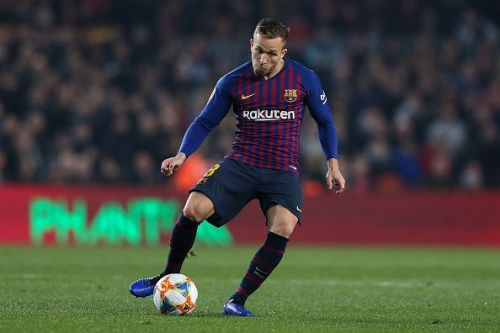 Arthur Melo has been immense for Barcelona in midfield