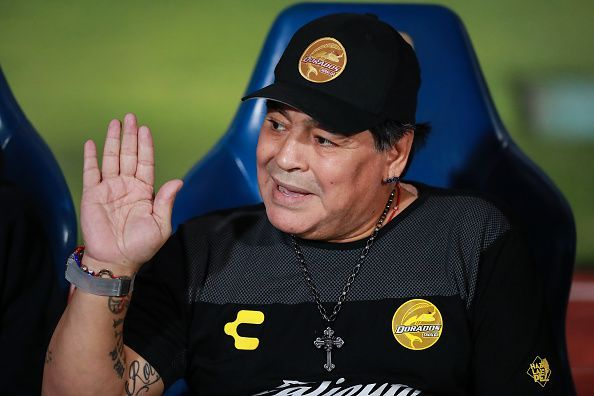 Argentina legend Maradona has been vocal in his criticism of the AFA