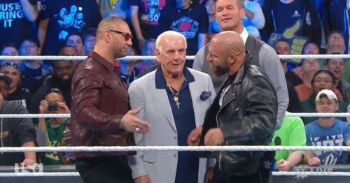 Triple H and Batista are set to go face-to-face next week on Raw