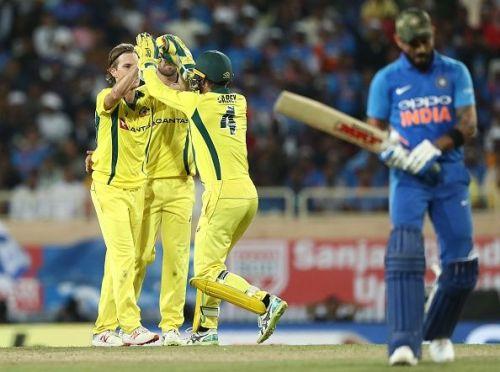 India succumbed to a loss at Ranchi
