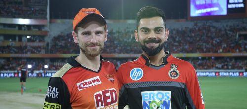 हैदराबाद और बैंगलोर के कप्तान