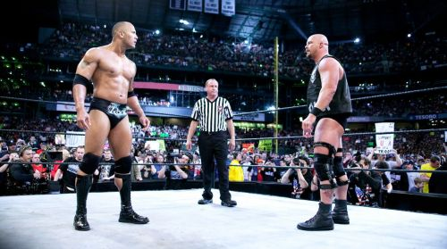 Austin's final match was at WrestleMania 19 against The Rock