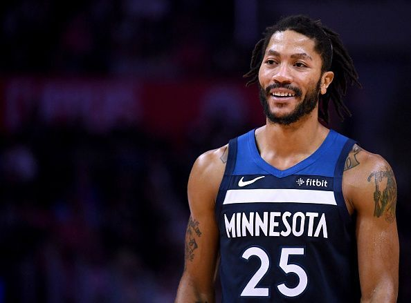 48d62bd70ee The night Derrick Rose was back on top