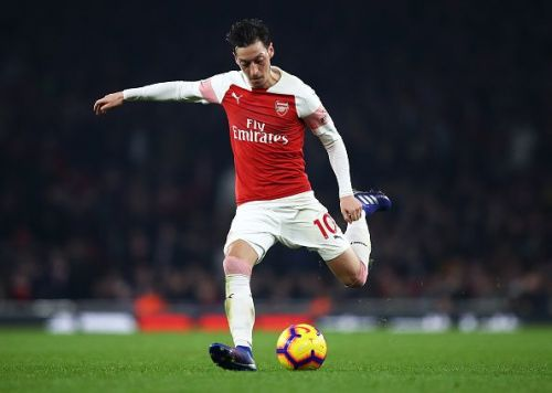 Ozil has been an anonymous figure at the Emirates this season