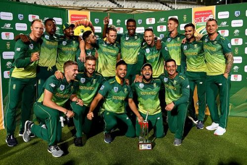 South Africa thoroughly dominated the 5-match series