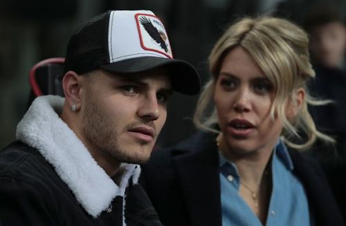 Icardi has been watching Inter Milan matches from the stands