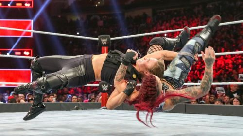 Ruby Riott has been Rousey's punching bag for the last few months