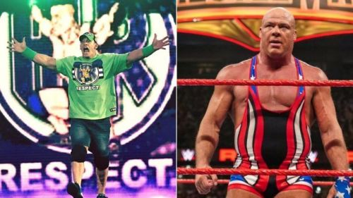 Why did WWE not have John Cena face Kurt Angle in his last ever match