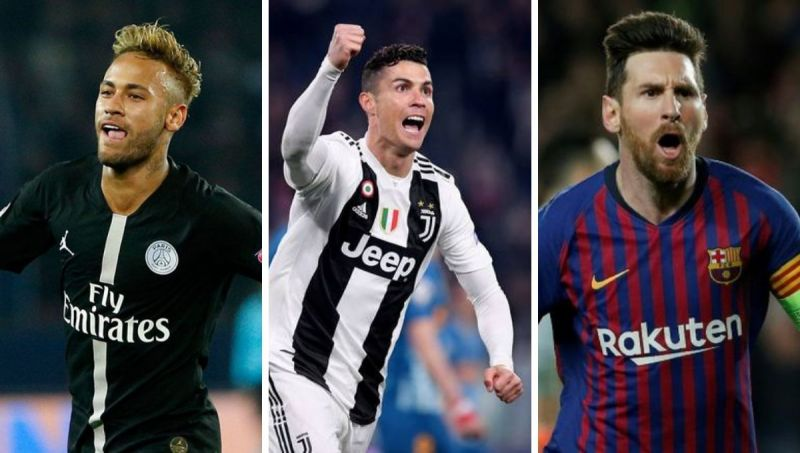 Where do you think Neymar, Ronaldo, and Messi are on this list?