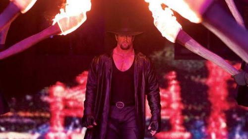 The Undertaker making his historic entrance at WrestleMania 20!