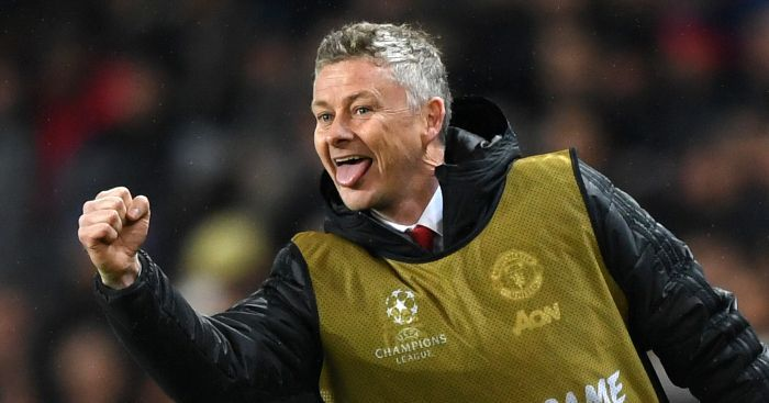 Ole Gunnar Solskjaer is in pole position to be Manchester United