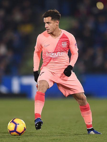 Coutinho mixes well with Barca's style of playGetafe CF v FC Barcelona - La Liga