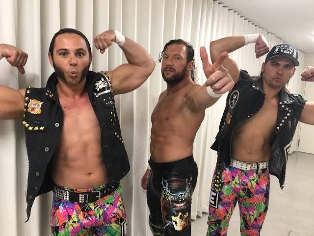 The Young Bucks and Kenny Omega