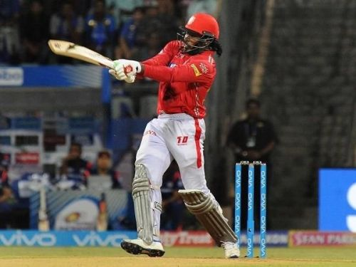 Chris Gayle was impressive again