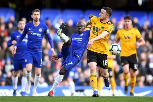 Chelsea and Wolves clashed at Stamford Bridge today