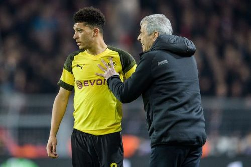 Jadon Sancho, playing for Borussia Dortmund, has been a successful gamble for the German giants.