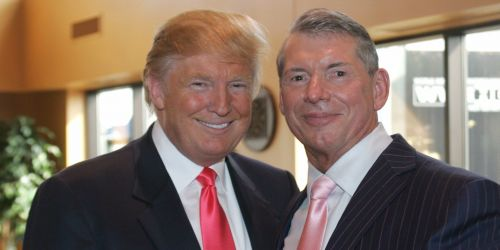 Vince and Trump have never seen eye to eye