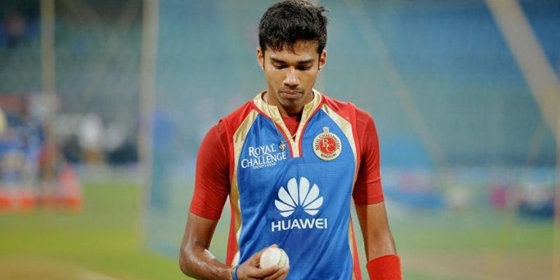 Sandeep Warrier during his Royal Challengers Bangalore (RCB) days.