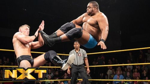 Bask in the glory of Keith Lee's uncanny agility.