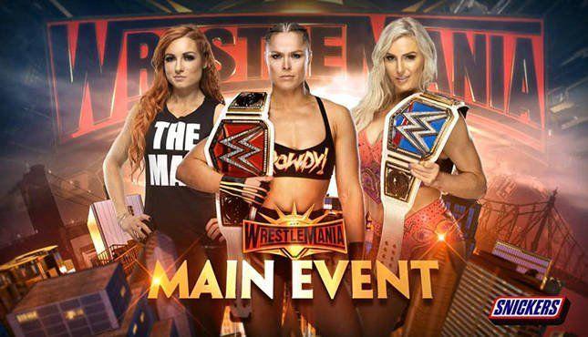 Wrestlemania 35 will be