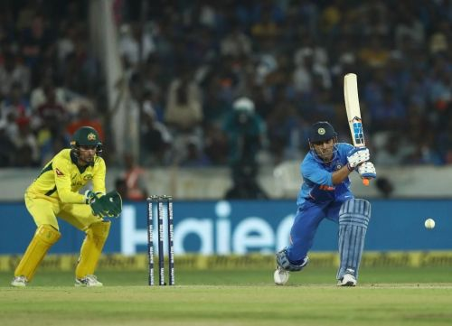 MS Dhoni provided good supporting hand to Kedar Jadhav with an unbeaten 59 runs knock.