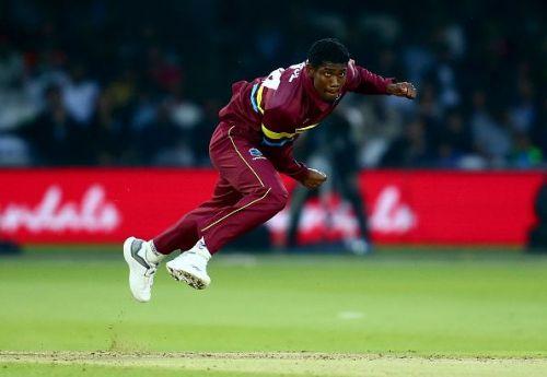 West Indies cricketer Keemo Paul