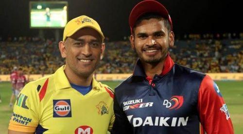 चेन्नई सुपर किंग्स और दिल्ली कैपिटल्स के कप्तान