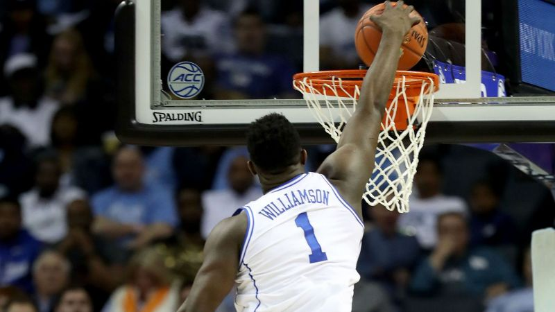 3fe8df53a58 Zion Williamson and five other stars to watch during March Madness
