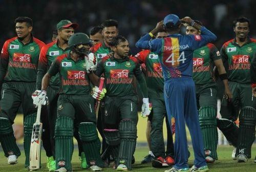 Sri-Lanka lost to Bangladesh at home in Nidahas trophy