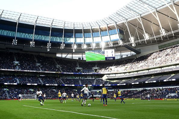 The impressive new Tottenham Hotspur stadium