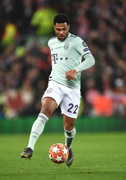 Serge Gnabry has become an integral part of Bayern Munich