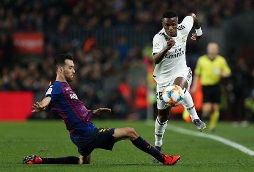 Vinicius Jr is having a wonderful debut season with Real Madrid.