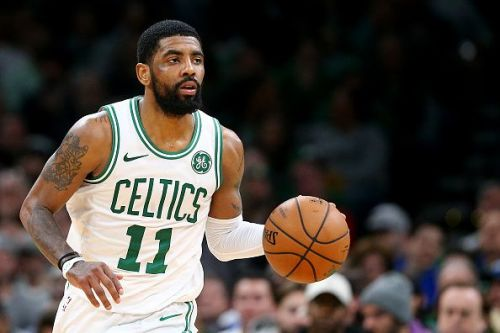 Kyrie Irving tallied his second career triple-double