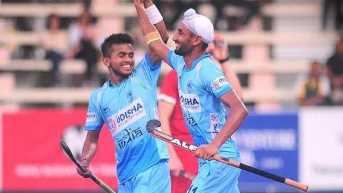 Mandeep Singh scored three goals