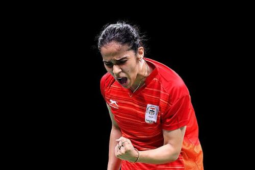 Saina Nehwal secured an easy victory over Kirsty Gilmour