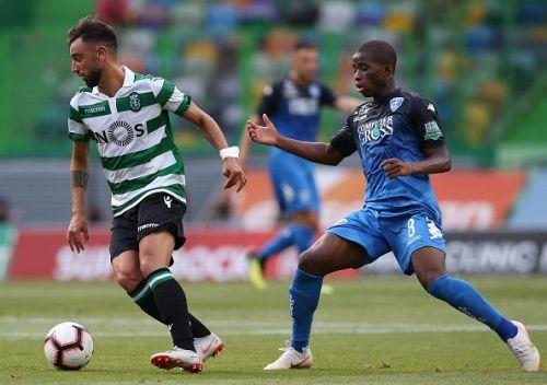 Sporting CP's Bruno Fernandes