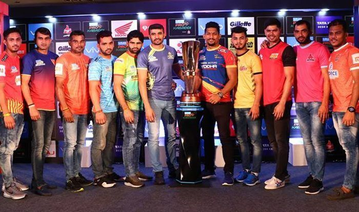 Sublime players like Ajay Thakur, Pardeep Narwal, Deepak Hooda, Fazel Atrachali and Meraj Sheykh have been retained by their teams