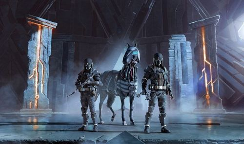 Just look at that friggin' horse. That's some Horizon Zero Dawn stuff right there.