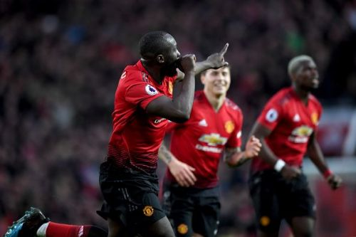 Two goals from Romelu Lukaku saved Manchester United last weekend.