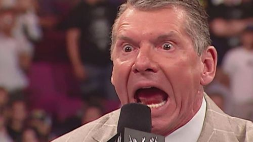 Image result for vince mcmahon annoyed
