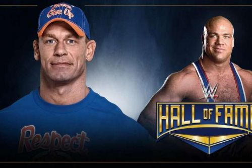 Fact: Cena inducted Angle at the WWE HOF 2019