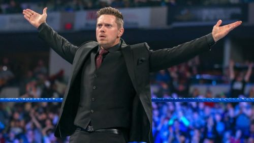 The Miz was not gonna let Shane's actions go unpunished