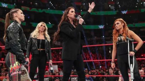 Will Becky Lynch be able to secure her place in the WrestleMania main event?