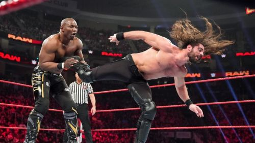 Shelton Benjamin made a surprise appearance on RAW last Monday night