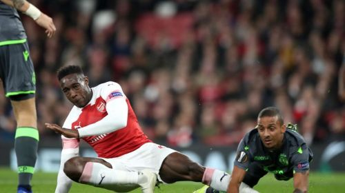 Welbeck suffered a serious ankle injury against Sporting Lisbon