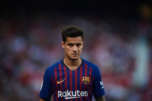 Philippe Coutinho has cut a frustrated figure at Barcelona of late