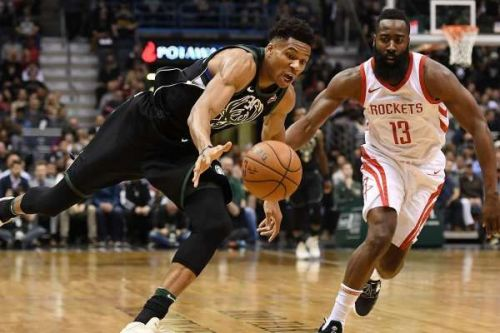 Giannis and Harden are both averaging career-high numbers