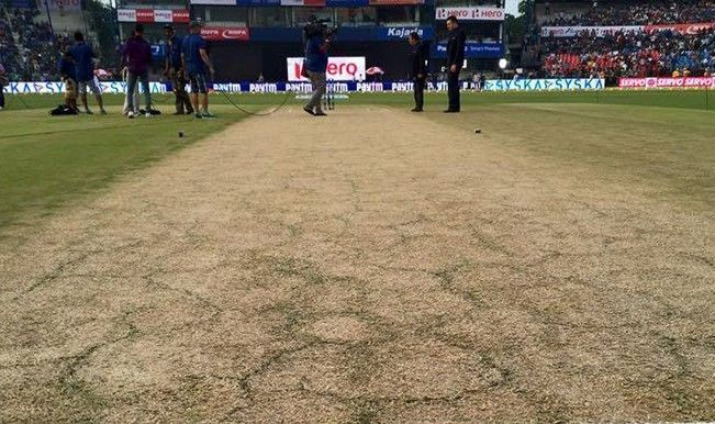 Nagpur controversial pitch