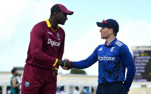 Jason holder & eoin morgan