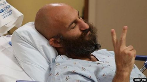 Tommaso Ciampa is in high spirits after his surgery, but a return date has not been announced yet.
